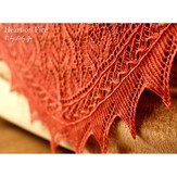 Lily Go Heart on Fire Shawl PDF
