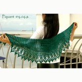 Lily Go Piquant Crocheted Shawl PDF