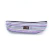 della Q 1102-1 Long Zip Pouch - Purple