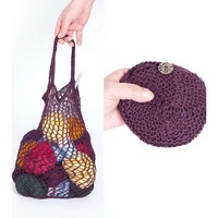 Knitted and Crocheted Pouch Bag PDF