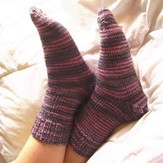 Madelinetosh Afterthought Socks (Free)