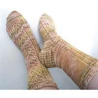 Elves and Elms Socks PDF