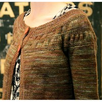 Tea Leaves Cardigan PDF