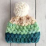 Manos del Uruguay Simple Bulky Moss Stitch Baby Hat (Free)