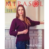 Mirasol 5076 Seed Stitch Trim Sweater