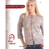 Misti Alpaca 1004 Circle Border Short Jacket PDF