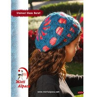 1077 Stained Glass Beret PDF