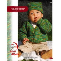 1080 Little Boy's Reversible Cardigan & Hat PDF