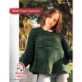 Misti Alpaca 1094 M&M Panel Sweater PDF