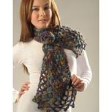Misti Alpaca 2046 Lattice Knit & Crochet Scarf (Free)