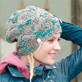 My Mountain Schachenmayr Woman's Cap with Cable (Free)