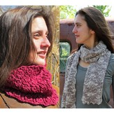 Nelkin Designs Iota Cowl and Scarf Set PDF