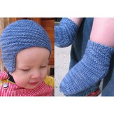 Nelkin Designs Walking Spiral Cap and Socks PDF