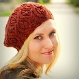 Never Not Knitting Autumn Vines Beret PDF