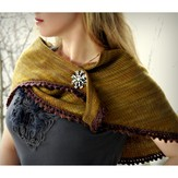Never Not Knitting Cosette Wrap PDF