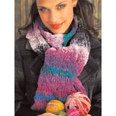Noro Reversible Cabled Scarf (Free)