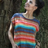 Noro Shiraito Sleeveless Sweater (Free)