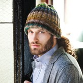 Noro Man's Ribbed Hat PDF