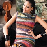 Noro Short Row Colorblock Tank PDF
