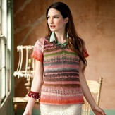 Noro Patchwork Mesh Top PDF