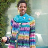 Noro Cabled Coat with Cowl PDF