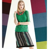 Noro Striped Skirt PDF