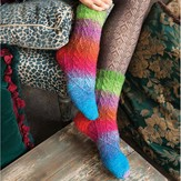 Noro Faux Cable Socks PDF