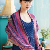 Noro Crescent Shape Shawl PDF