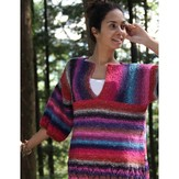 Noro Ladies' Sweater (Silk Garden Lite) PDF