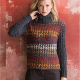 Noro Houndstooth Pullover PDF