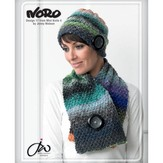 Noro 17 Hat And Neck Scarf PDF - Designer Mini Knits 4