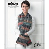 Noro 22 Scarf With Pockets PDF - Designer Mini Knits 4