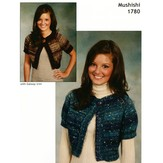 Plymouth Yarn 1780 Top Down Cropped Cardigan