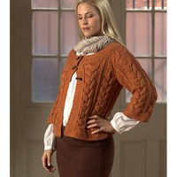 1791 Cabled Cardigan