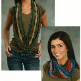 Plymouth Yarn 1898 Wave Cowls
