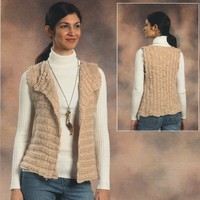 2076 Woman's Side to Side Vest