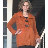 Plymouth Yarn 2092 Woman's Jacket
