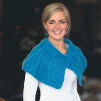 2118 Cabled Capelet