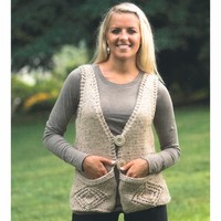 2228 Woman's Vest with Pockets
