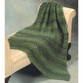 Plymouth Yarn 2257 Basketweave Throw
