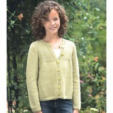 Plymouth Yarn 2265 Girl's Cardigan