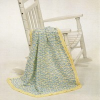2274 Sweet Shells Baby Blanket