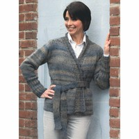 2424 Woman's Belted Cardigan