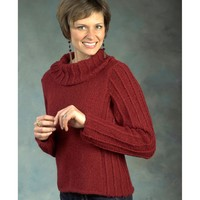 2442 Cowl Neck Pullover