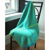 Plymouth Yarn 2458 4 Square Baby Blanket (Encore)