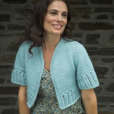 Plymouth Yarn 2482 Woman's Contiguous Cardigan