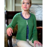 Plymouth Yarn 2747 Woman's Cardigan