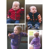 Plymouth Yarn 2861 Seasonal Baby Cardigans