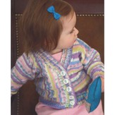 Plymouth Yarn 2863 Multi Directional Baby Cardigan