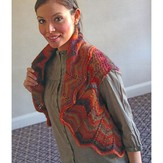 Plymouth Yarn 2875 Chevron Vest